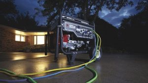 Home power preparations for severe weather